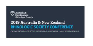 2019 Australia New Zealand Rhinologic Society Conference